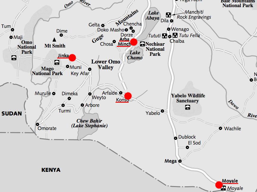 エチオピア南部のコピー